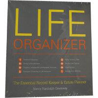LIFE ORGANIZER(ISBN=9781599620923) 英文原版