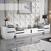 钢化玻璃钢琴烤漆 简约电视柜茶几组合 现代客厅电视柜 整装