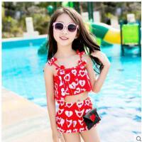 儿童游泳衣女童泳装韩版宝宝比基尼泳衣分体小中大童泳裤套装