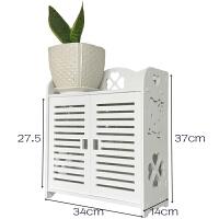 抽纸盒墙面 整理洗漱墙面单层装饰抽纸多层吸壁欧式厨卫隔板浴室柜收纳盒分隔