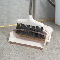 {夏季贱卖}家用清洁扫把簸箕组合俩件套装扫地不锈钢软毛笤帚扫头发除灰工具 套装扫把