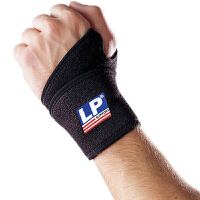 LP欧比护腕单片式腕关节缠绕护套739 篮球羽毛球排球健身护具 单只