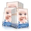 婴儿蚕丝面膜贴深层滋养补水保湿斑淡美女提亮白正品收缩毛孔8片