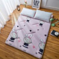 加厚海绵床垫1.8m床 学生宿舍榻榻米1.5m床褥子垫被单人0.9m1.2米