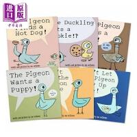 【中商原版】The Pigeon 鸽子系列6册 Mo Willems 幼儿早教绘本启蒙 儿童读物 凯迪克奖 情商培养安全