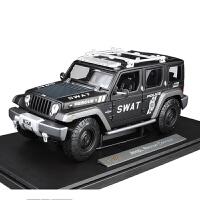 1:18吉普jeep牧马人野概念车仿真合金特警汽车模型