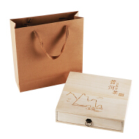 ��木普洱茶盒�Y品盒茶�~包�b木盒茶�空盒木盒子�物�木盒茶�P