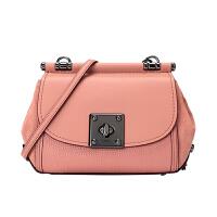 【网易考拉】COACH 蔻驰 女士时尚旋锁单肩斜挎包 粉色