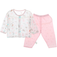 开衫套装夏季单排扣子套开衫套装宝宝空调服