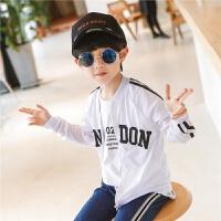 【2件2折】左西童装男童外套儿童防晒衣薄款透气夏季服中大童2021新款韩版潮