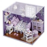 智趣屋diy小屋 甜蜜阳光手工小房子拼装模型创意生日礼物