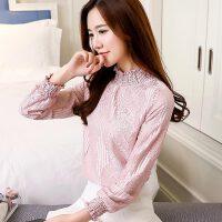 秋冬装新款加绒打底衫女加厚蕾丝上衣服保暖长袖小衫韩版百搭