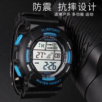 大表盘温度电子表表游泳测水温男孩青少年腕表多功能户外运动手表SN6681