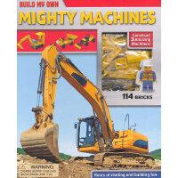 Mighty Machines(Build My Own)边玩边读:重型车辆(含玩具插块)ISBN9780794431