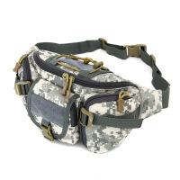 新款新款迷彩运动腰包结实耐磨防水多功能户外登山旅游单肩包男女