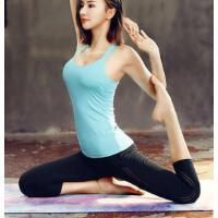 运动户外瑜伽服套装女新款时尚初学者性感专业运动健身速干背心女