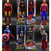 正品复仇者联盟2钢铁侠蜘蛛侠美国队长3雷神绿巨人偶手办玩具模型