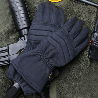户外 凯夫拉御焱甲手套 秋冬手套 骑行手套 攀岩攀登运动手套 黑蓝色