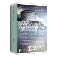 正版 英文版原版小说 尤利西斯 Ulysses 经典文学名著 企鹅出版 爱尔兰文学巨匠詹姆斯.乔伊斯代表作 英文原版进