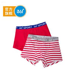 361度童装男童内裤男童平角内裤2件装儿童内裤K11722453