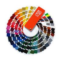 新版正品德国RAL劳尔色卡K7国际原装标准印刷油漆涂料ral色卡带中文213色广告设计装修家具鞋业塑胶印染配色