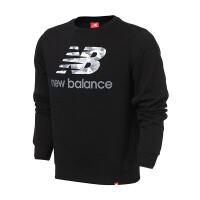 New Balance/NB男装2017秋季新款运动休闲针织套头卫衣AMT73586