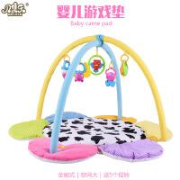 新品热卖婴幼儿游戏毯 爬行垫 宝宝益智摇铃玩具健身架