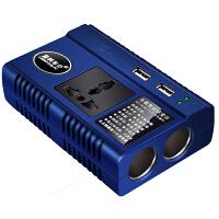 车载逆变器电源转换器12V/24V通用转220V充电器双USB汽车插座