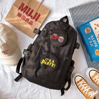 大容量双肩包男女芝麻街背包书包旅行包学生高中初中日系潮