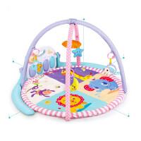 儿童健身架婴儿玩具0-1岁0-6个月摇铃宝宝玩具新生儿脚踏钢琴男女孩礼物床铃儿童礼物 01207