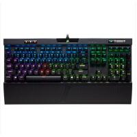 美商海盗船 (USCORSAIR) K70 RGB MK.2 RAPIDFIRE CherryMX银轴 机械键盘 炫彩