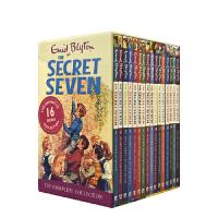 【首页抢券300-100】Enid Blyton Secret Seven Collection 七个小神探 1-16