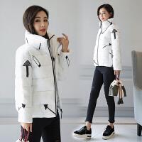 立领羽绒棉服外套女短款2017冬季新款羽绒棉服韩版加厚面包服立领小棉袄外套潮