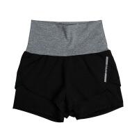 夏季韩版运动跑步短裤速干内衬防走光女士健身瑜伽裤显瘦弹力热裤