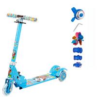 滑板车儿童2-3-4-5-6岁小孩三轮可折叠闪光踏板车滑滑扭扭车玩具