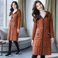 棉衣女装外套秋冬季防寒新款韩版中长款大码棉袄过膝外套潮