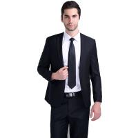 男式西服套装修身男士商务正装新郎伴郎婚庆酒席宴会礼服套装