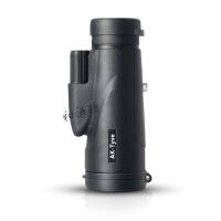 单筒望远镜 高清高倍夜视微光户外便携大目镜 黑色