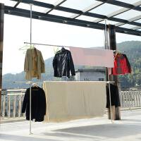多功能不锈钢伸缩折叠小型晾衣架窗外阳台室内晒鞋暖气片挂架