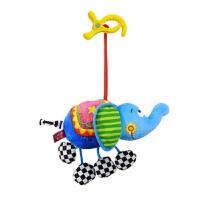 【支持礼品卡】新生儿摇铃婴儿床旋转音乐床铃0-3岁 三个月宝宝床头玩具推车挂件j5l