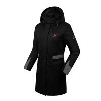 KELME卡��美 K46C5050 女式�L款�B帽棉服 �敉膺\�颖∶抟� 防�L保暖大衣