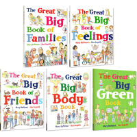 【全店满300减80】The Great Big Book of Families Friend 家庭朋友情感大开本5册
