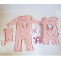新品婴儿礼盒套装全棉新生儿满月*品女宝宝小公主春夏季衣服大