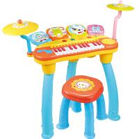 儿童架子鼓玩具电子琴乐器初学者宝宝敲打鼓1-3-6岁