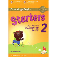 剑桥官方少儿英语YLE等级一级考试 Cambridge English Starters 2 for Revised Exam from 2019 模拟考试真题集