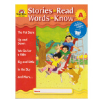 Evan-Moor Stories To Read Words to Know Level A 加州教辅 阅读学词汇系