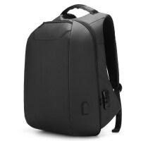 新款商务双肩包男士背包.6寸电脑包多功能防盗书包大容量出差旅行包