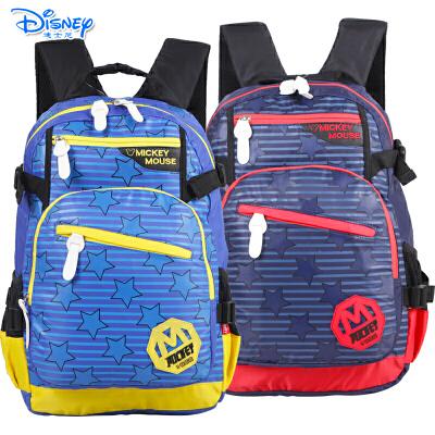 Disney/迪士尼 初中生高中学生高年级男女书包双肩包休闲运动书包有买就有送 送笔袋
