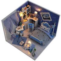 diy小屋梦星空手工制作拼装房子模型玩具建筑男女生生日礼物特别
