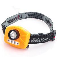 迷你头灯H14多功能红外感应非防水LED头灯矿灯钓鱼灯户外用 支持礼品卡支付